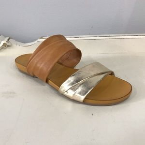 Rebels Scout Tan and Gold Sandals